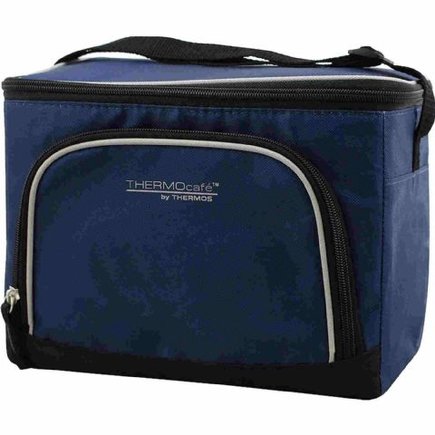 Thermos Blue Picnic & Drinks Can Cool Bag 28cm 6.5L